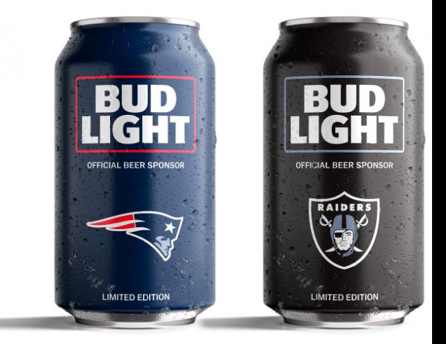 Bud Light Unveils Nfl Can Designs