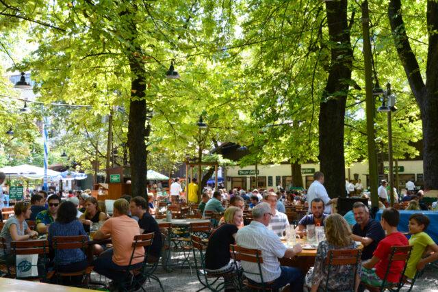 A Beer Garden