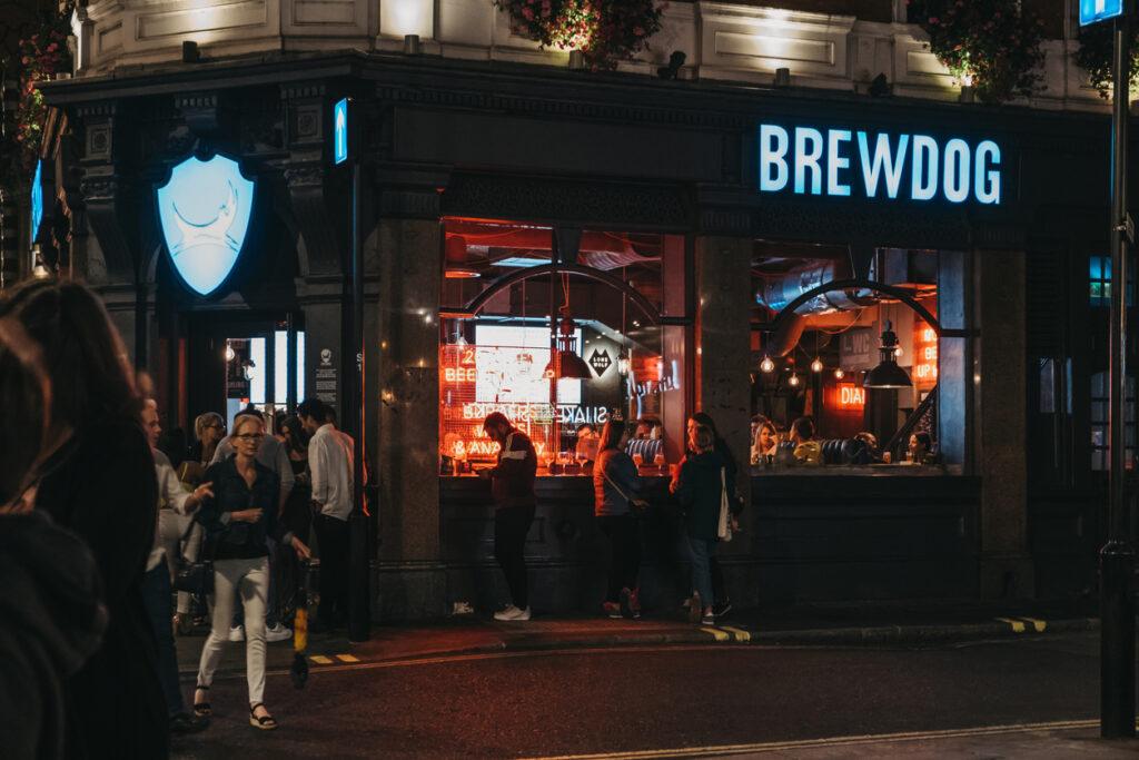 A BrewDog location